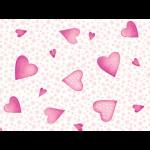 """Ткань для пэчворк (50x55см) 26405PIN из коллекции """"A bundle of pink"""""""