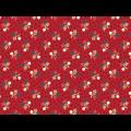 "Ткань для пэчворк (50x55см) 26480RED из коллекции ""American beauty"" ""Red Rooster Fabrics"""