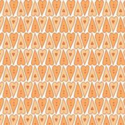 """Ткань для пэчворк (50x55см) 24113ORA из коллекции """"Basically hugs"""""""