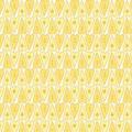 """Ткань для пэчворк (50x55см) 24113YEL из коллекции """"Basically hugs"""""""