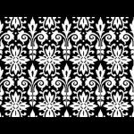 "Ткань для пэчворк 24272BLA из коллекции ""Black tie"" ""Red Rooster fabrics"""