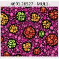 "Ткань для пэчворк (60x110см) 26527MUL из коллекции ""Carousel"" ""Red Rooster Fabrics"""