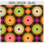 "Ткань для пэчворк (60x110см) 26528BLA из коллекции ""Carousel"" ""Red Rooster Fabrics"""