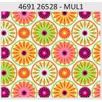 "Ткань для пэчворк (60x110см) 26528MUL из коллекции ""Carousel"" ""Red Rooster Fabrics"""
