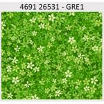 "Ткань для пэчворк (50x55см) 26531GRE из коллекции ""Carousel"" ""Red Rooster Fabrics"""