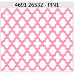 """Ткань для пэчворк (50x55см) 26532PIN из коллекции """"Carousel"""" """"Red Rooster Fabrics"""""""