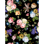 "Ткань для пэчворк (50x55см) 26694MUL из коллекции ""Catherine"" ""Red Rooster Fabrics"""