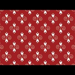 """Ткань для пэчворк (50x55см) 26598RED из коллекции """"Coonawarra red"""""""