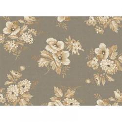 "Ткань для пэчворк (60x110см) 26409GRY из коллекции ""Cottage Whites"" ""Red Rooster Fabrics"""
