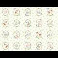"Ткань для пэчворк (60x110см) 26621MUL из коллекции ""Country days"""