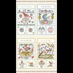 "Ткань для пэчворк (60x110см) 26564MUL из коллекции ""Frakfurt and Flourishes"" ""Red Rooster Fabrics"""