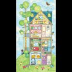 "Ткань для пэчворк (60x110см) 26454MUL из коллекции ""Home for You and Me"""