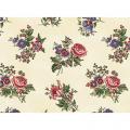 "Ткань для пэчворк (50x55см) 26447MUL из коллекции ""Lucys collection"" ""Red Rooster Fabrics"""