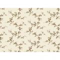 "Ткань для пэчворк (50x55см) 26450BRO из коллекции ""Lucys collection"" ""Red Rooster Fabrics"""