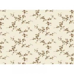 "Ткань для пэчворк (50x55см) 26450BRO из коллекции ""Lucy's collection"" ""Red Rooster Fabrics"""