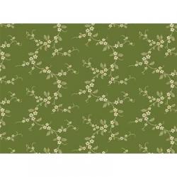 "Ткань для пэчворк (50x55см) 26450GRE из коллекции ""Lucy's collection"" ""Red Rooster Fabrics"""