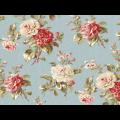 "Ткань для пэчворк (50x55см) 25905BLU из коллекции ""Mrs. Miniver"" ""Red Rooster Fabrics"""