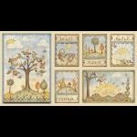 "Ткань для пэчворк (60x110см) 26430MUL из коллекции ""Shine"" ""Red Rooster Fabrics"""