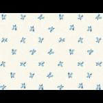 """Ткань для пэчворк (50x55см) 25378LTBLU из коллекции """"Symphony rose"""""""