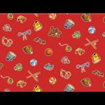 "Ткань для пэчворк (50x55см) 26698RED из коллекции ""Wee play"" ""Red Rooster Fabrics """
