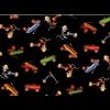 "Ткань для пэчворк (50x55см) 26699BLA из коллекции ""Wee play"" ""Red Rooster Fabrics """