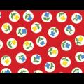 "Ткань для пэчворк (50x55см) 26702RED из коллекции ""Wee play"" ""Red Rooster Fabrics """