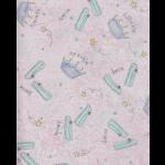 "Ткань для пэчворк (50x55см) 22412PIN из коллекции ""Dancing with sparkle repeat"""