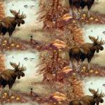 """Ткань для пэчворк 23958MUL из коллекции """"Mountain woods"""" """"SPX Fabrics"""" (США)"""