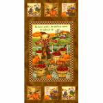 """Ткань для пэчворк (60x110см) 24827BRO из коллекции """"Harvest angels"""" """"SPX Fabrics"""" (США)"""