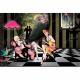 """Ткань для пэчворк (60x110см) 25096GRY из коллекции """"Dance and romance"""" """"SPX Fabrics"""" (США)"""