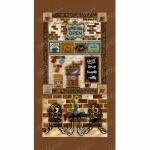 """Ткань для пэчворк (60x110см) 25105BRO из коллекции """"Caffe latte"""" """"SPX Fabrics"""" (США)"""