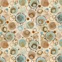 """Ткань для пэчворк 25107MUL из коллекции """"Caffe latte"""" """"SPX Fabrics"""" (США)"""
