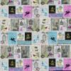 """Ткань для пэчворк (60x110см) 25305MUL из коллекции """"Song birds"""" """"SPX Fabrics"""" (США)"""