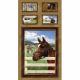 """Ткань для пэчворк (60x110см) 25321MUL из коллекции """"World of Horses"""" """"SPX Fabrics"""" (США)"""
