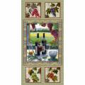 "Ткань для пэчворк (60x110см) 25331MUL из коллекции ""Wine country"" ""SPX Fabrics"" (США)"