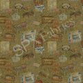 "Ткань для пэчворк (50x55см) 25334OCH из коллекции ""Wine country"" ""SPX Fabrics"" (США)"