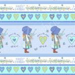 """Ткань для пэчворк (60x110см) 25359BLU из коллекции """"Хобби Холли"""" """"SPX Fabrics"""" (США)"""