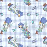 """Ткань для пэчворк (60x110см) 25360BLU из коллекции """"Хобби Холли"""" """"SPX Fabrics"""" (США)"""
