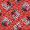 """Ткань для пэчворк (60x110см) 25371RED из коллекции """"Chuggington"""" """"SPX Fabrics"""" (США)"""