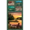 "Ткань для пэчворк (60x110см) 25464MUL из коллекции ""Lakeside reflections"" ""SPX Fabrics"" (США)"