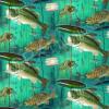 "Ткань для пэчворк (60x110см) 25466JAD из коллекции ""Lakeside reflections"" ""SPX Fabrics"" (США)"