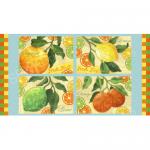 """Ткань для пэчворк (60x110см) 25485BLU из коллекции """"Citrus Grove"""" """"SPX Fabrics"""" (США)"""