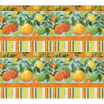 """Ткань для пэчворк (60x110см) 25488MUL из коллекции """"Citrus Grove"""" """"SPX Fabrics"""" (США)"""
