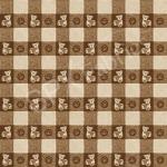"""Ткань для пэчворк (50x55см) 25506BRO из коллекции """"ABC Bears"""" """"SPX Fabrics"""" (США)"""