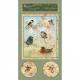 """Ткань для пэчворк (60x110см) 26224SAG из коллекции """"Garden Melodies"""" """"SPX Fabrics"""" (США)"""