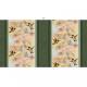 """Ткань для пэчворк (60x110см) 26227GRE из коллекции """"Garden Melodies"""" """"SPX Fabrics"""" (США)"""