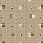 "Ткань для пэчворк (50x55см) 2501-958 ""Stof"" (Дания)"