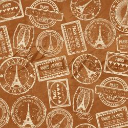 """Ткань для пэчворк (50x55см) 2503-399 из коллекции """"Paris"""" """"Stof"""" (Дания)"""