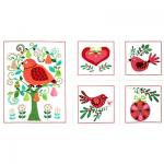 "Ткань для пэчворк (60x110см) 2990-155 ""Stof"" (Дания)"