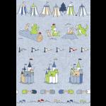 """Ткань для пэчворк (60x110см) 4500-032 из коллекции """"Little Ollie"""" """"Stof"""" (Дания)"""